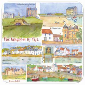 Kingdom of Fife Single Coaster-0