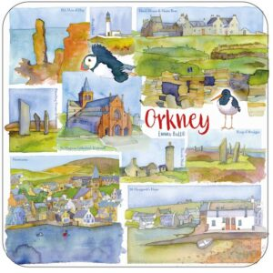 Orkney Packed Coasters (4pack)-0