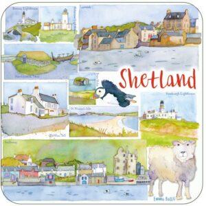Shetland Packed Coasters (4pack)-0