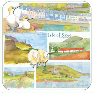 Isle of Skye Packed Coasters (4pack)-0