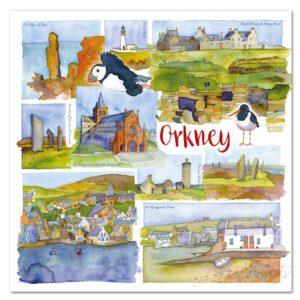 UK42 ORKNEY CARD