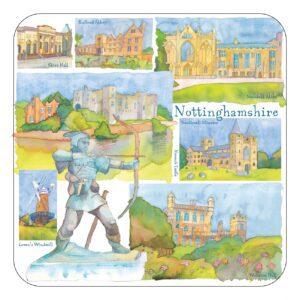 Nottinghamshire Single Coaster-0