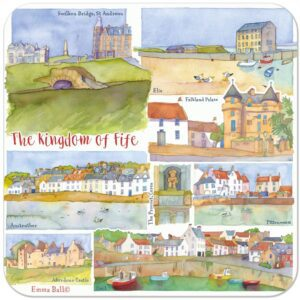Kingdom of Fife Packed Coasters (4pack)-0