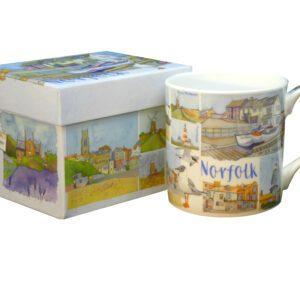 Norfolk Bone China Mug with Gift Box-0