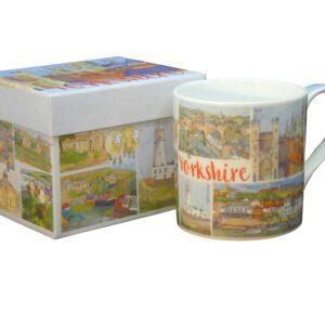 Yorkshire Bone China Mug with Gift Box-0