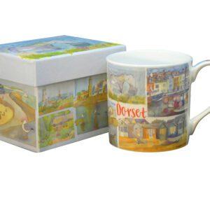 Dorset Bone China Mug with Gift Box-0