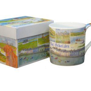The Hebridies Bone China Mug with Gift Box-0