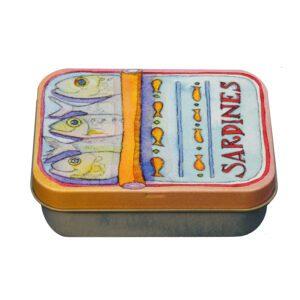 Sardines - Mini Rectangular Tin-0