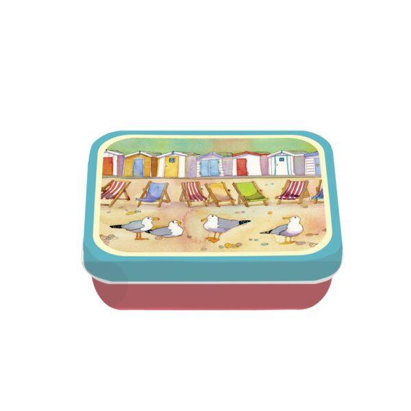 Beach Huts - Mini Rectangular Tin-0