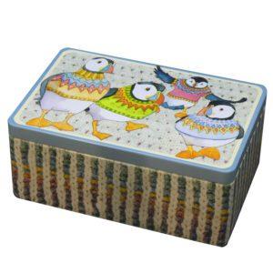 Woolly Puffins - Rectangular Tin-0