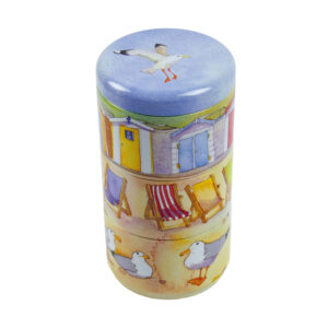 A Day at the Seaside - Set of 3 Stacker Tins-0