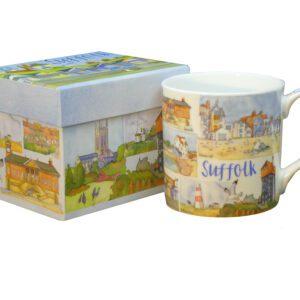 Suffolk Bone China Mug with Gift Box-0