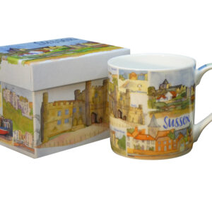 Sussex Bone China Mug with Gift Box-0