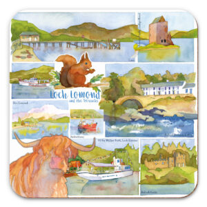 Loch Lomond & the Trossachs Packed Coasters (4pack)-0