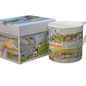 Shetland Bone China Mug with Gift Box-0