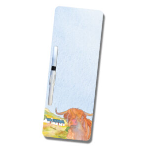 Highland Cow Magnetic Wipeboard-0