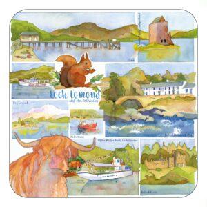 Loch Lomond & the Trossachs Single Coaster-0