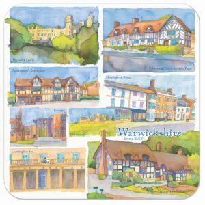 Warwickshire Single Coaster-0