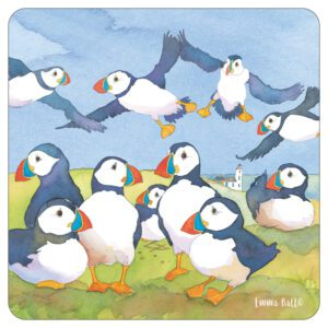 Puffins Pot Stand-0