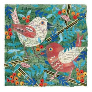 Birds in the Rowan Greetings Card-0