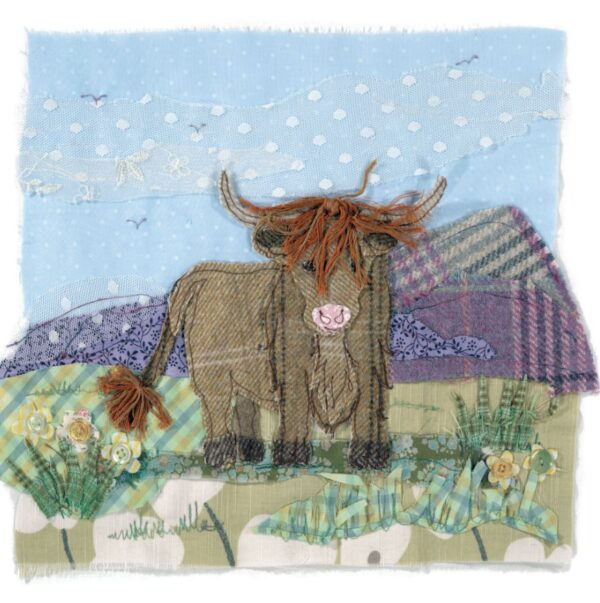 Ginger Coo - Greetings Card-0