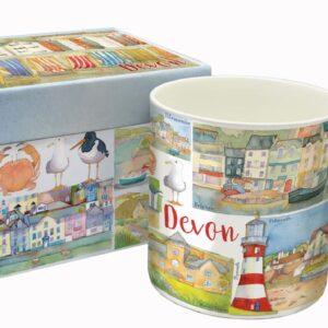 Devon Bone China Mug with Gift Box-0