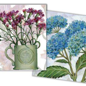 Floral II Mini Card Pack of 10-0