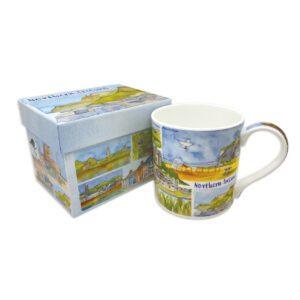 Northern Ireland Bone China Mug with Gift Box-0