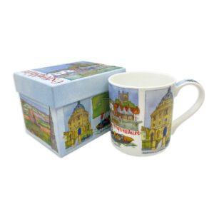 Oxfordshire Bone China Mug with Gift Box-0