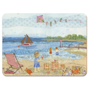 Sunny Seaside Days Single Placemat -0