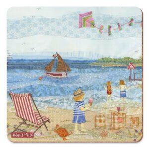 Sunny Seaside Days Pot Stand-0