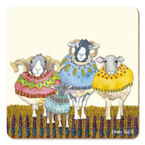 Woolly Sheep in Sweaters Pot Stand-0