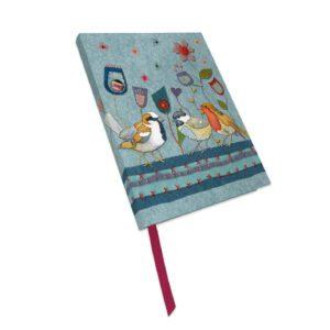 Stitched Birdies Bound Notebook-0