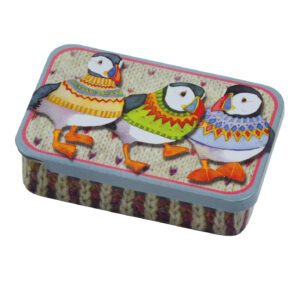 Woolly Puffins - Pocket Tin-0