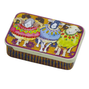 Woolly Sheep in Sweaters - Pocket Tin-0