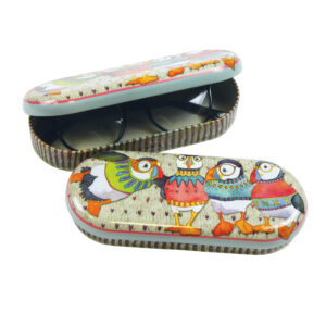 Woolly Puffins Glasses Case-0