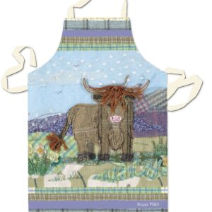 Tweedie Highland Cow Apron-0