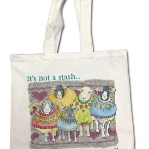 Its not a Stash Cotton Canvas Bag-0