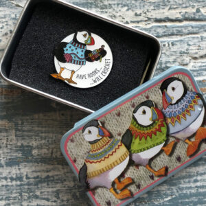 Pin in a Tin-Have Hooks.. Will Crochet -9033