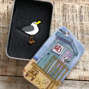 Pin in a Tin-Seagull -9059