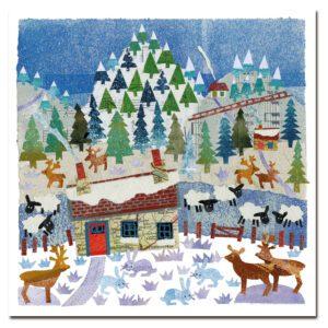 Christmas Farm- Christmas 6 card pack-0