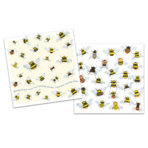 Bees Mini Card Pack of 10-0