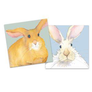 Bunnies Mini Card Pack of 10-0