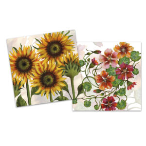 Floral III Mini Card Pack of 10-0