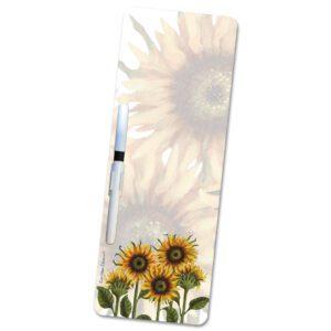 sunflower wipeboard